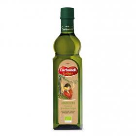 Aceite de oliva virgen extra ecológico Carbonell botella vidrio 750 ml.