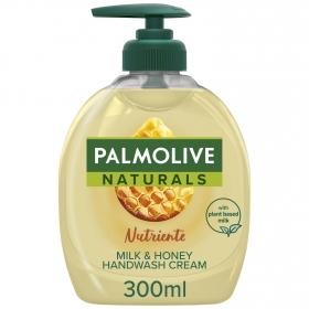 Jabón de manos con leche y miel NB Palmolive 300 ml.