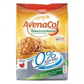 Galletas de avena 0% azúcares añadidos Avenacol Cuétara 200 g.