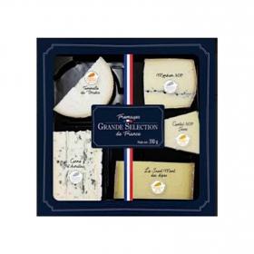 Tabla 5 quesos con medallas gran selección Franceses Cantorel 310 g