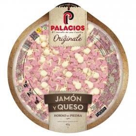 Pizza de jamón y quesoLa Originale Palacios 405 g.