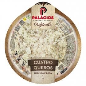 Pizza 4 quesos La Originale Palacios 400 g.