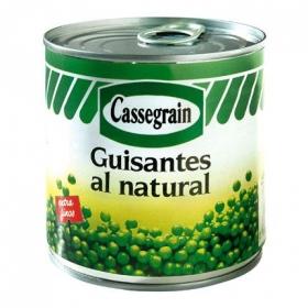 Guisantes extra finos Cassegrain 280 g.