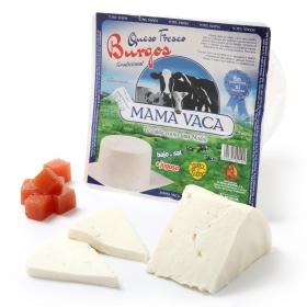 Queso fresco de Burgos Mama Vaca al corte 200 g aprox
