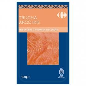 Trucha ahumada Carrefour 100 g.