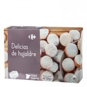 Delicias de hojaldre Carrefour 410 g.