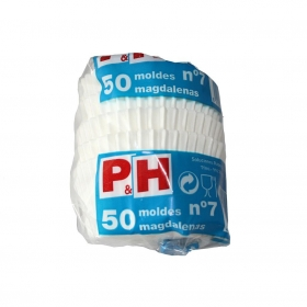 Set de 50 Cápsulas de Papel P&H cl - Blanco