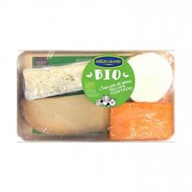 Tabla de quesos ecológicos selección Millán Vicente 400 g