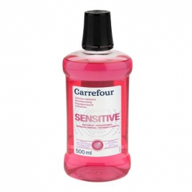 Enjuague bucal Sensible Carrefour 500 ml.