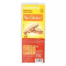 Baguette Carrefour sin gluten 250 g.