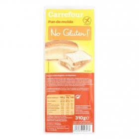 Pan de molde Carrefour sin gluten 310 g.