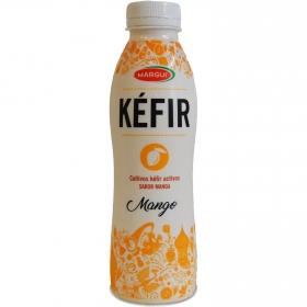 Kéfir líquido mango Margui 500 g.