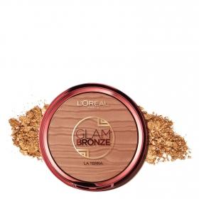 Polvos Compactos Glam Bronze 02 L'Oréal 1 ud.