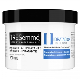 Mascarilla capilar hidratación intensa Tresemmé 500 ml.