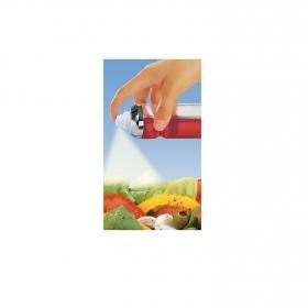 Pulverizador Aceite de Vidrio FACKELMANN Pouring&Dispensing 4,8cm - Transparente
