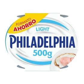 Crema de queso de untar light Philadelphia pack de 2 unidades de 250 g.