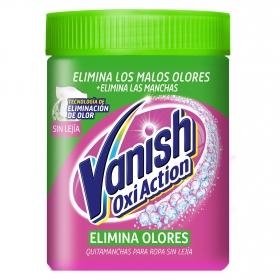 Quitamanchas elimina olores en polvo Vanish OxiAction 840 g.