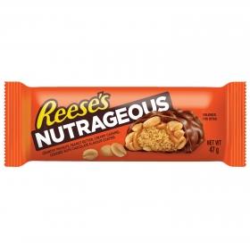 Chocolatina con nueces Reese's 47 g.
