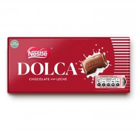 Chocolate con leche Nestlé Dolca sin gluten 100 g.