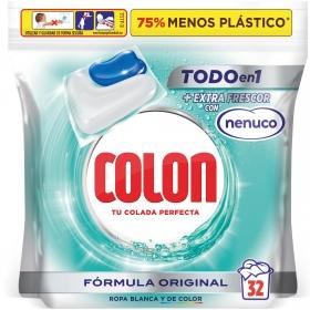 Detergente en cápsulas Nenuco Colon 32 ud.