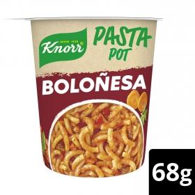 Pasta Pot Boloñesa Knorr 68 g.