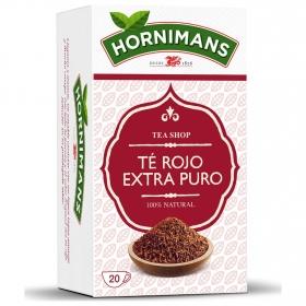 Té rojo extra puro en bolsitas Hornimans 20 ud.