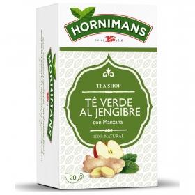 Té verde al jengibre con manzana en bolsitas Hornimans 20 ud.
