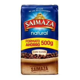 Café molido natural Saimaza 500 g.