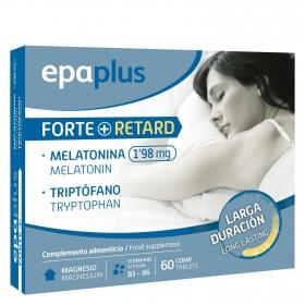 Complemento alimenticio melatonina y triptófano comprimidos Epaplus 60 comprimidos.