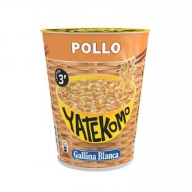 Fideos Orientales con pollo Yatekomo Gallina Blanca 60 g.