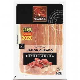 Jamón Curado en lonchas Navidul sin gluten 96 g.
