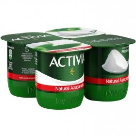 Yogur bífidus azucarado natural Danone Activia 4x125 g.