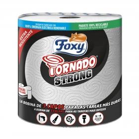 Papel de cocina Tornado Strong Foxy 1 rollo