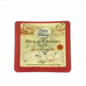 Queso azul Bleu-Causs Reflets de France 125 g