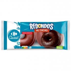 Redondos al cacao Carrefour 4 ud.