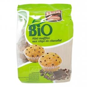 Magdalenas con pepitas de chocolate ecológicas Heras 245 g.
