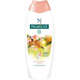 Gel de ducha con almendra y leche hidratante NB Palmolive 600 ml.