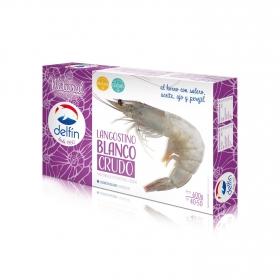 Langostino crudo blanco 40/50 Delfín 600 g.