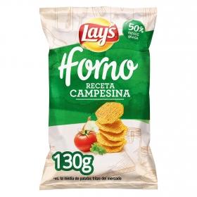 Patatas fritas campesinas Horno Lay's 130 g.