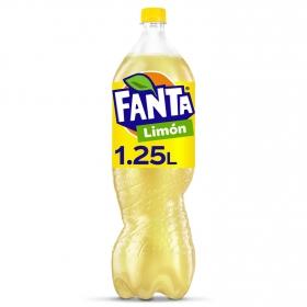 Refresco de limón Fanta con gas 1,25 l.