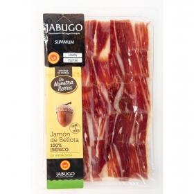 Jamón ibérico bellota 100% ibérico DOP Jabugo loncheado De Nuestra Tierra 80 g