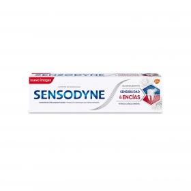 Dentífrico sensibilidad y encías blanqueante  Sensodyne 75 ml.