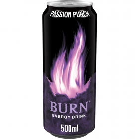 Bebida energética Burn Passion Punch 50 cl.