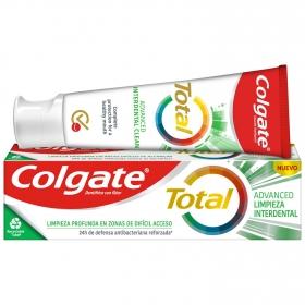 Dentífrico Total limpieza profunda Colgate 75 ml.