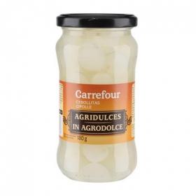 Cebollitas agridulces Carrefour 180 g.