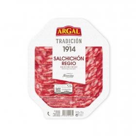 Salchichón Regio en lonchas Argal sin gluten 75 g.