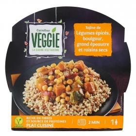 Tajine de legumbres Carrefour Veggie 300 g.