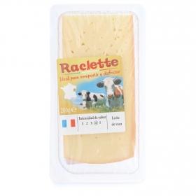 Queso raclette natural Francés loncheado Iberconseil 200 g