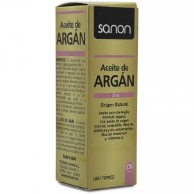 Aceite de Argán cosmética natural Sanon 30 ml.
