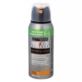 Desodorante antitranspirante 72h Les Cosmétiques -MenActiv' 100 ml.